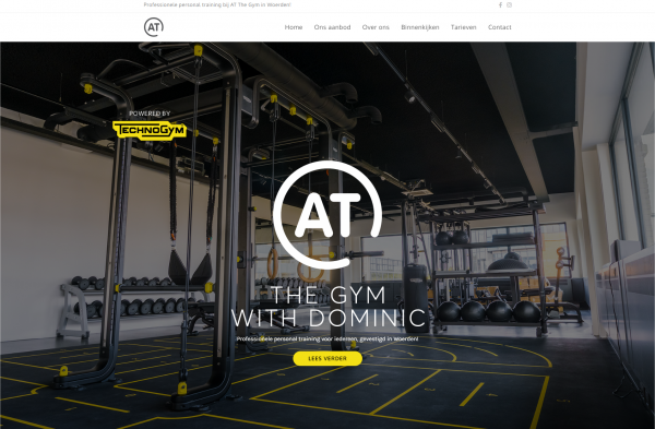 AT The Gym – Professionele personal training in Woerden - Google Chrome