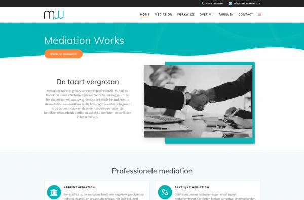 Bent u op zoek naar professionele mediation bij u in de buurt Dan bent u op zoek naar Mediation Works! - Google Chrome